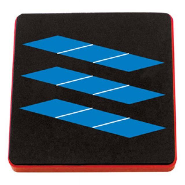 "AllStar Die - Pattern Block Multiples 1"" Sides, Rhombus 9-Up - A10362"