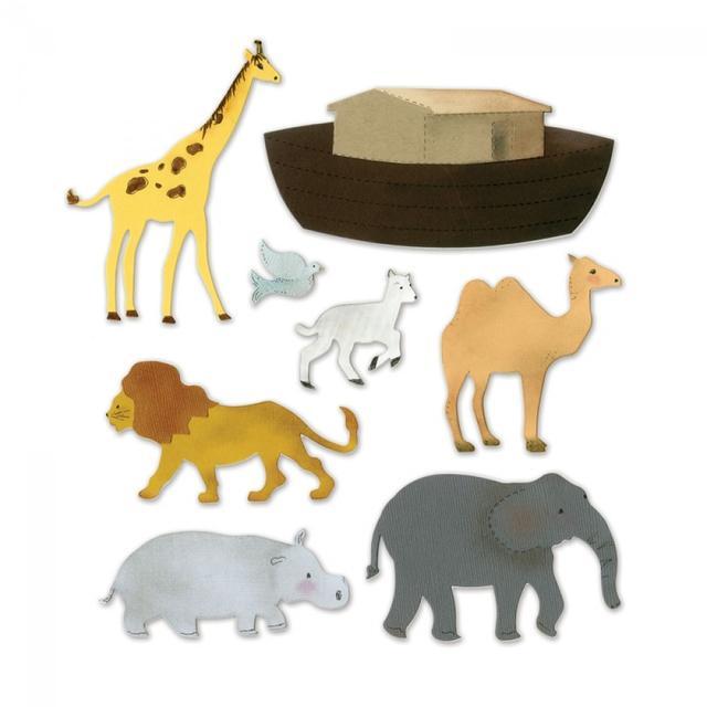 Sizzix Bigz XL Die - Noah's Ark w/Animals - A11054