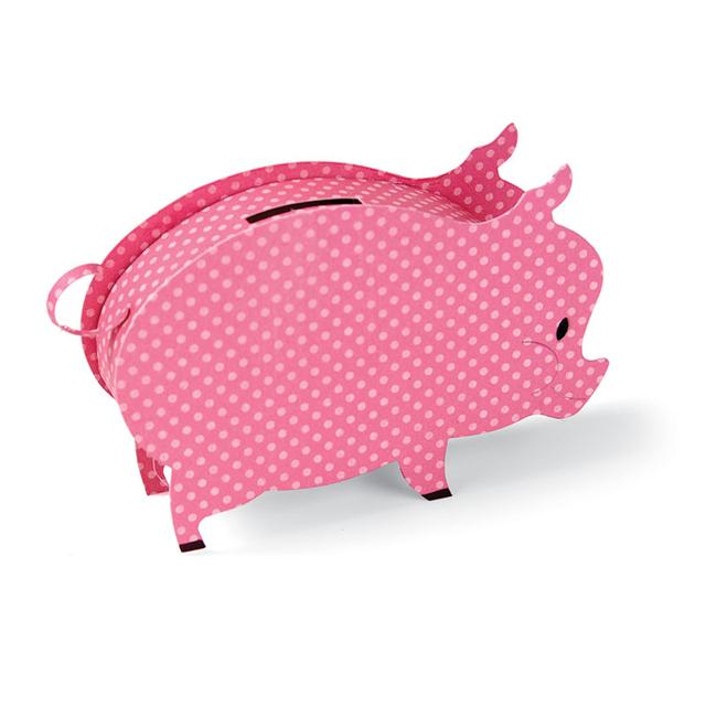 Sizzix Bigz XL Die - Piggy Bank, 3-D - A11036
