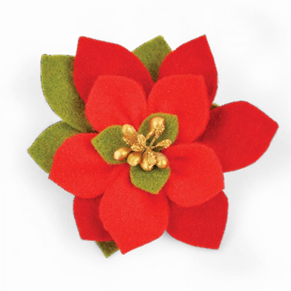 Sizzix Bigz Die - Build a Bloom, Poinsettia - 661294