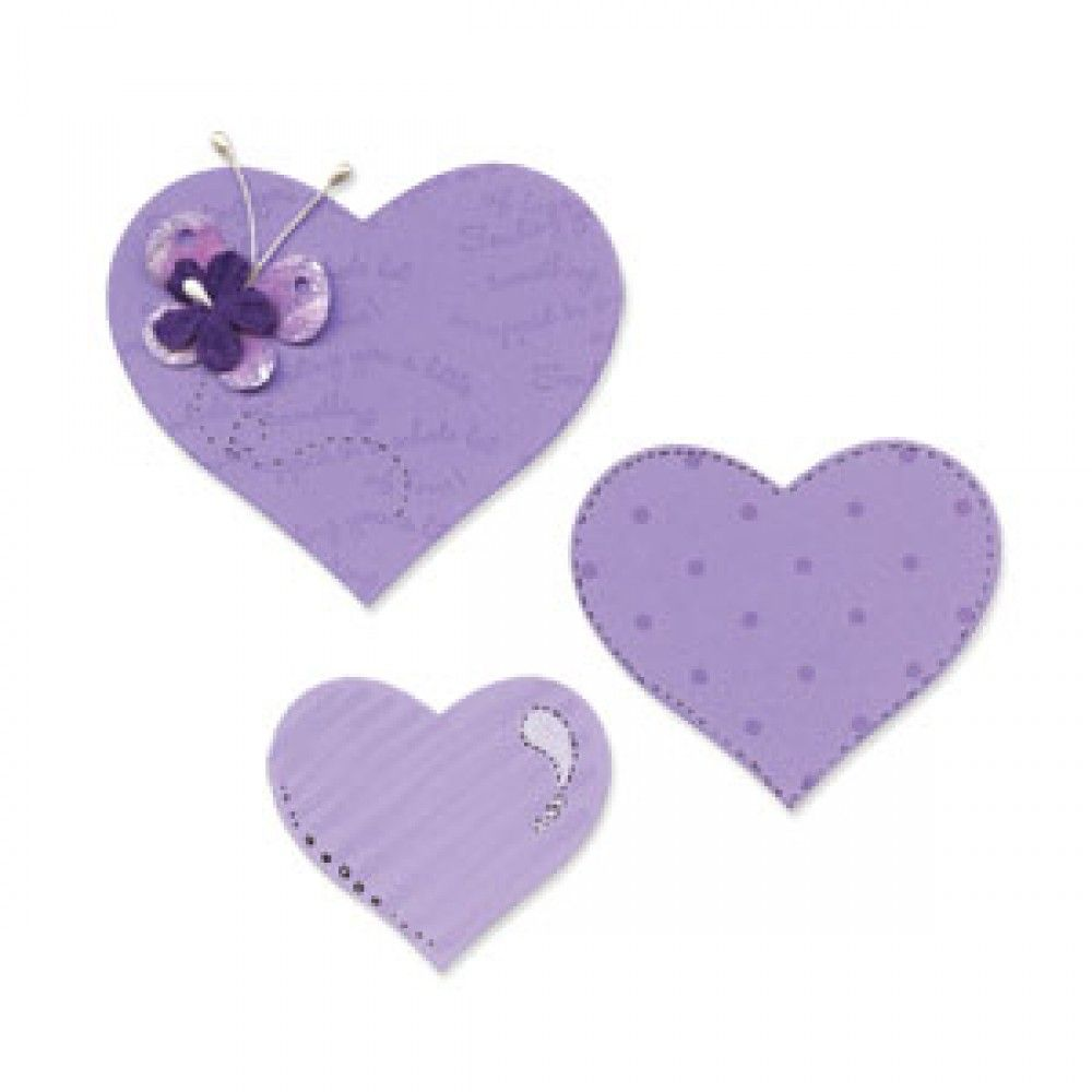 Sizzix Bigz Die Hearts - 656334