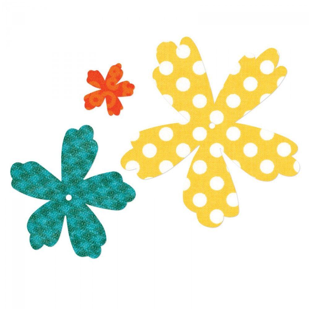 Sizzix Bigz Die - Flower Layers #4 - 656781