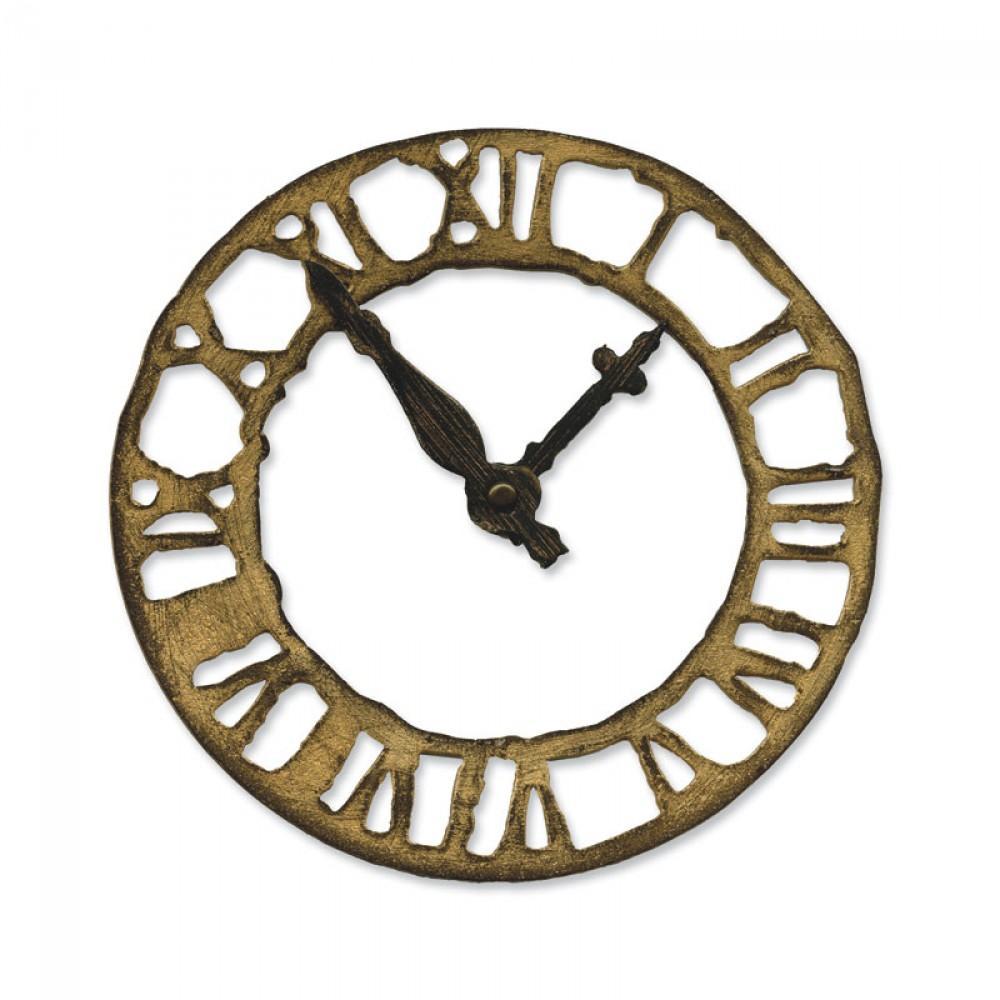 Sizzix Bigz Die - Weathered Clock - 657190