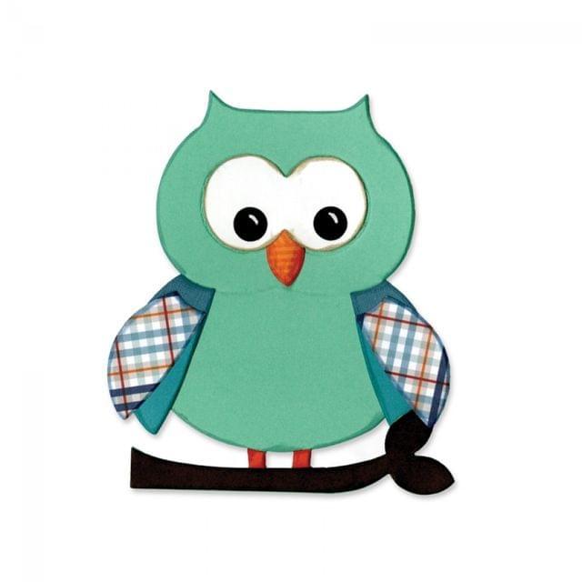 Sizzix Bigz Die - Owl #5-660785