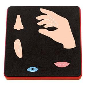 Sizzix Bigz Die - 5 Senses: Lips, Eye, Ear, Nose & Hand-A10603