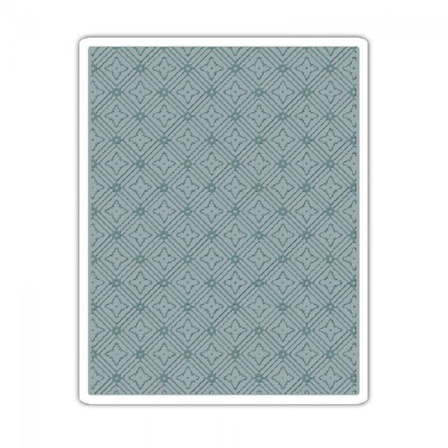Sizzix Texture Fades Embossing Folder - Diamonds - 660243