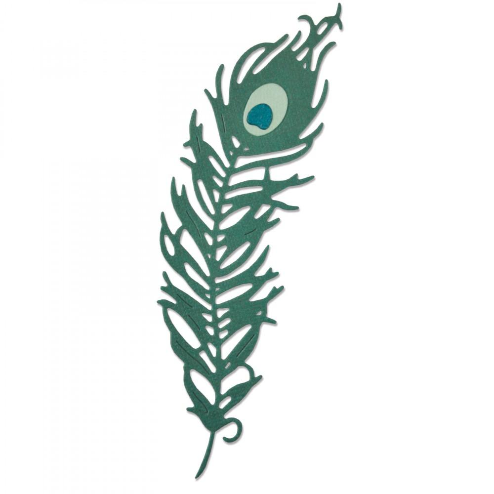 Thinlits Die Set 3PK - Peacock Feather-  661708