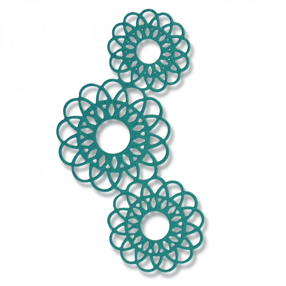 Sizzix Thinlits Die - Doily Mask-661683