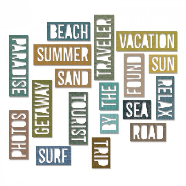 vacation words