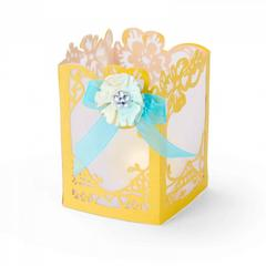 Sizzix Thinlits Die Set 3PK - Floral Lantern-661335