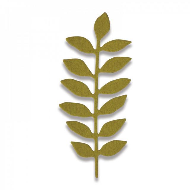 Sizzix Thinlits Die - Meadow Leaf Mini- 661792