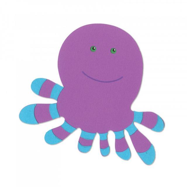 Sizzix Bigz Die - Octopus- A11153