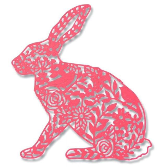 Sizzix Thinlits Die - Wild Rabbit-661689