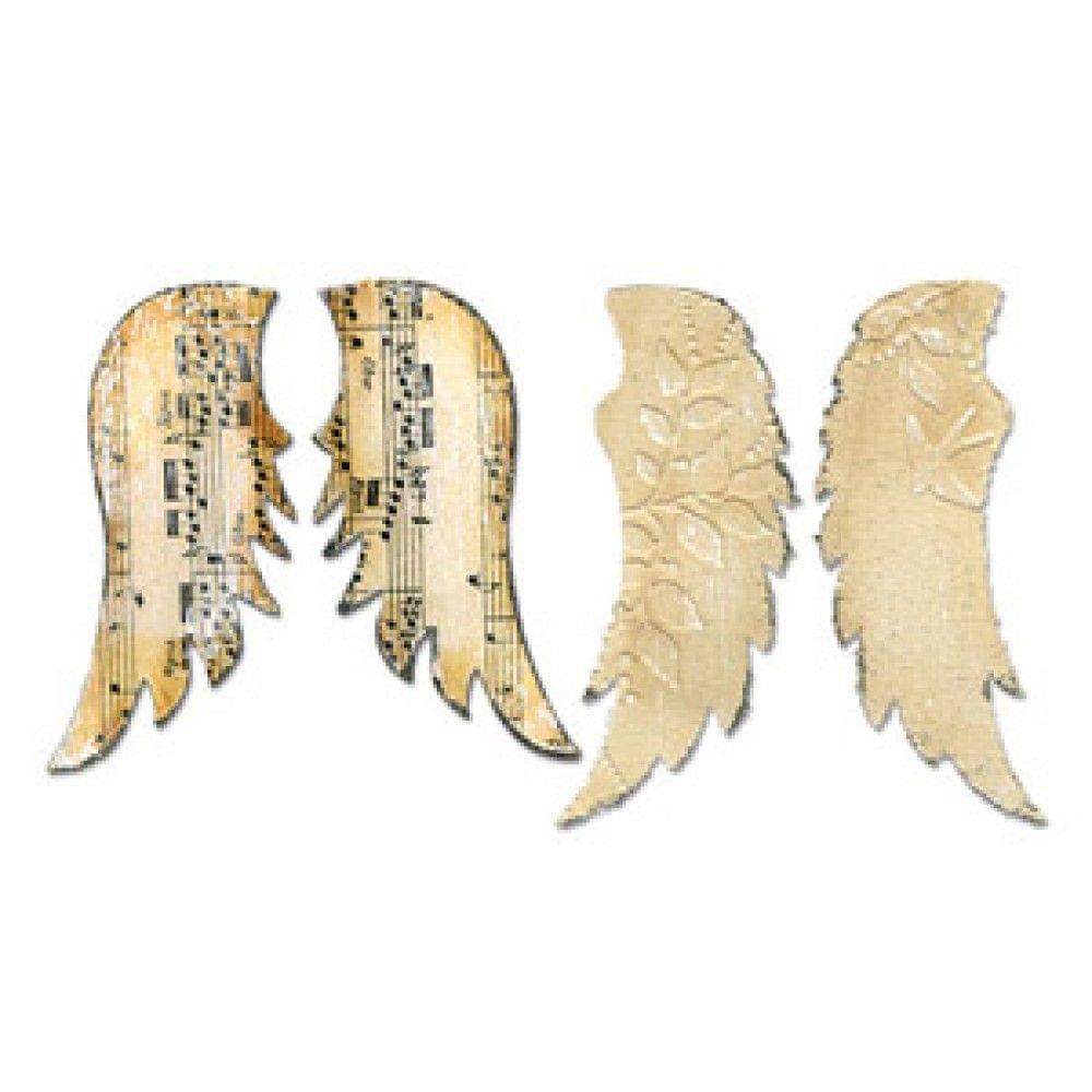 Sizzix Bigz Die - Wings, Angel - 656563