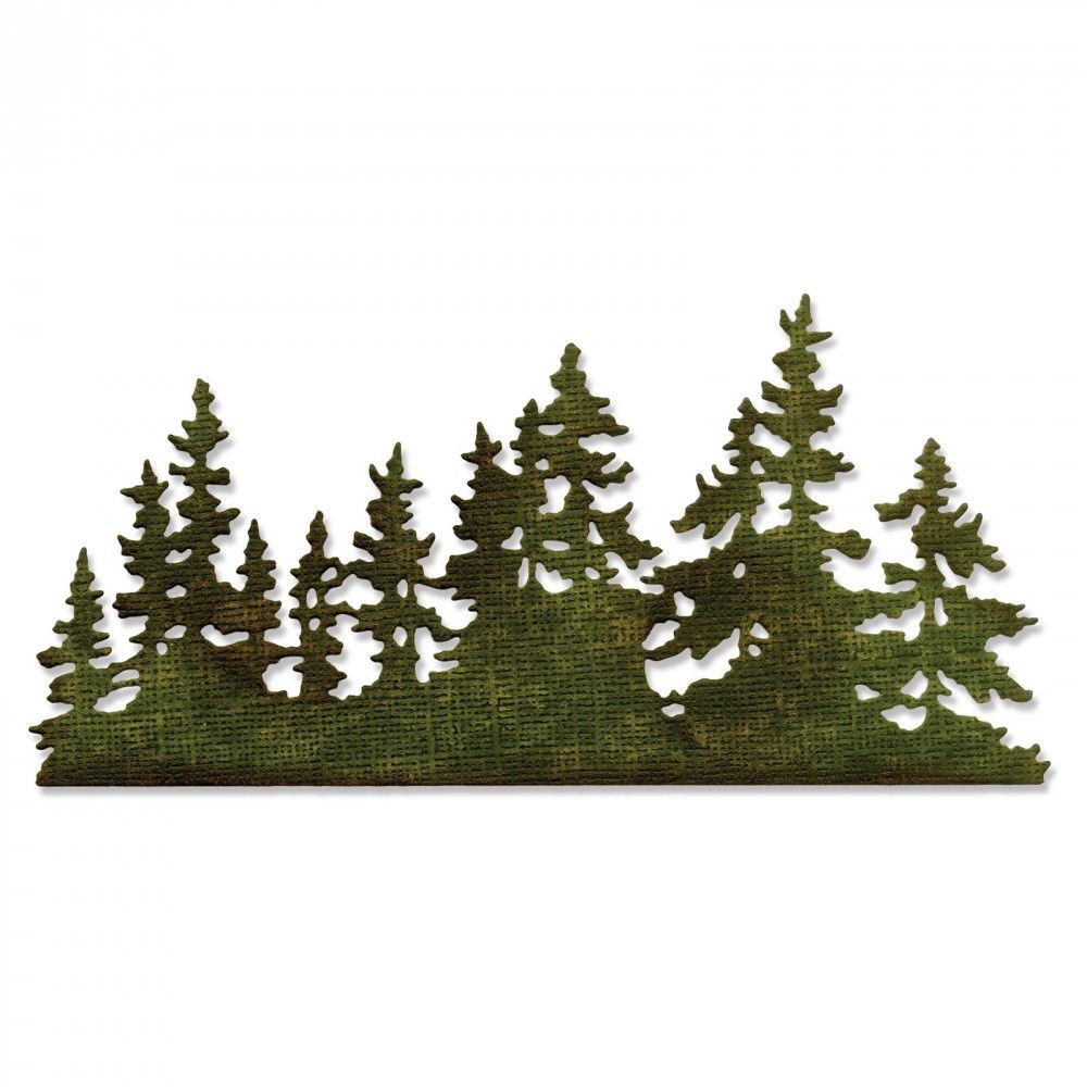 Sizzix Thinlits Die - Tree Line - 661604