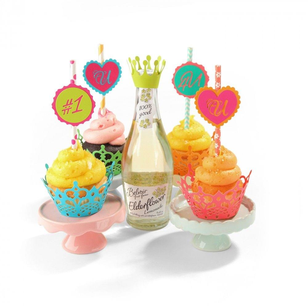 Sizzix Thinlits Die Set 7PK - Cupcake Wrappers - 660893