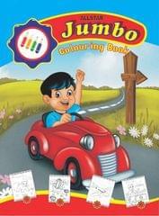 ALLSTAR JUMBO COLOURING BOOK  (English, Paperback, ALLSTAR TEAM)