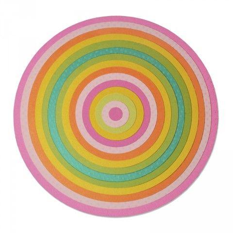 Sizzix Framelits Plus Die Set 15PK - Circles - 660838