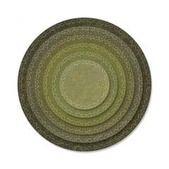 Sizzix Thinlits Die Set 6PK - Stitched Circles - 662229