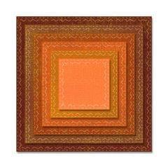 Sizzix Thinlits Die Set 6PK - Stitched Squares- 662231