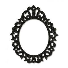 Sizzix Bigz Die - Ornate Frame- 658720