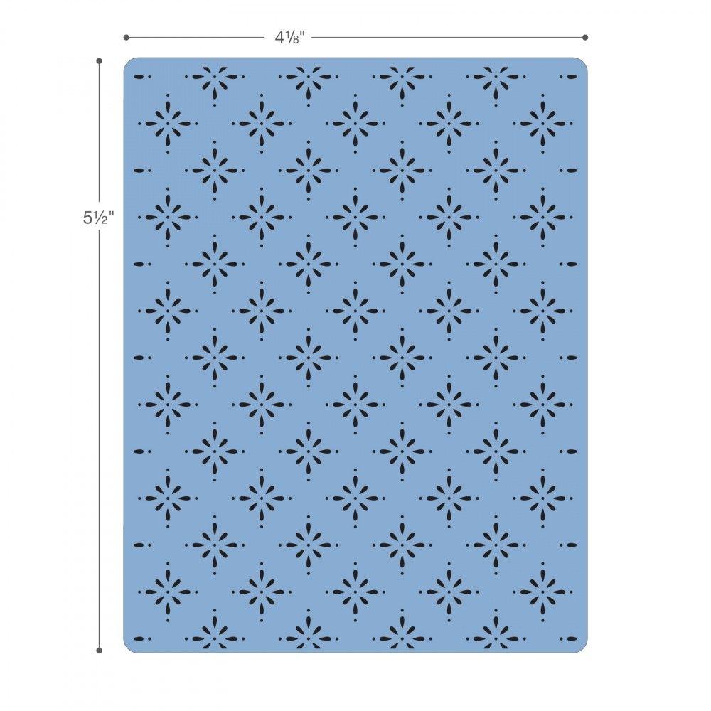 Sizzix Textured Impressions Embossing Folders 3PK -661496