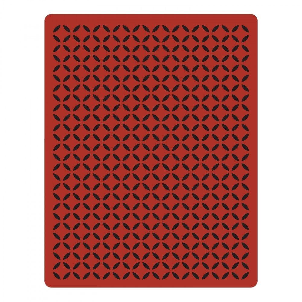 Sizzix Texture Fades Embossing Folder - Courtyard - 661363