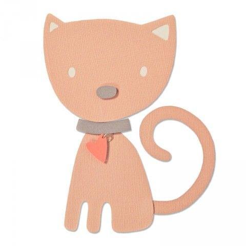 Sizzix Bigz Die - Kitten - 660875