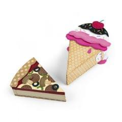 Sizzix Bigz L Die - Mini Ice Cream/Pizza Box -662443