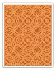 Sizzix Texture Fades Embossing Folder - Rosettes - 662391