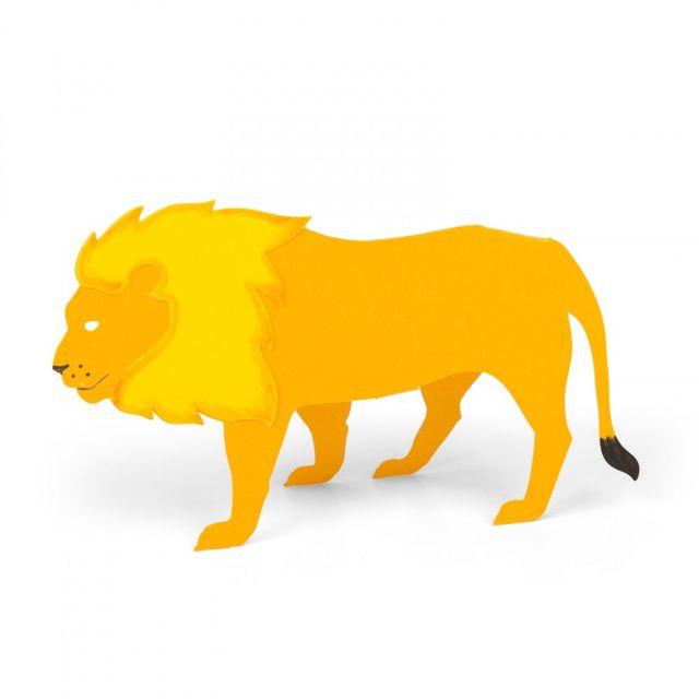 Sizzix Bigz L Die - Lion, 3-D - A11234