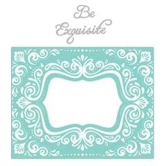 Sizzix Impresslits Embossing Folder - Aquarius Frame - 661952