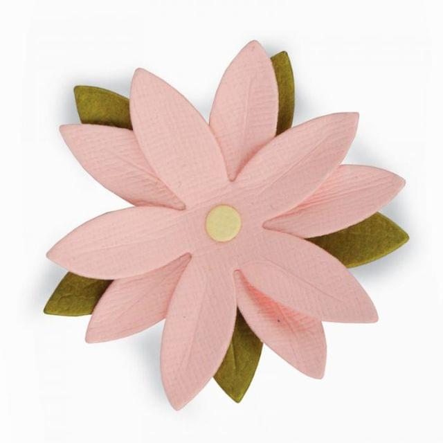 Sizzix Thinlits Die - Pretty Flower Mini - 661794