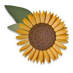Sizzix Thinlits Die Set 4PK - Sunflower - 662508