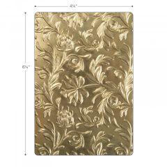 Sizzix 3-D Texture Fades Embossing Folder - Botanical Item - 662716