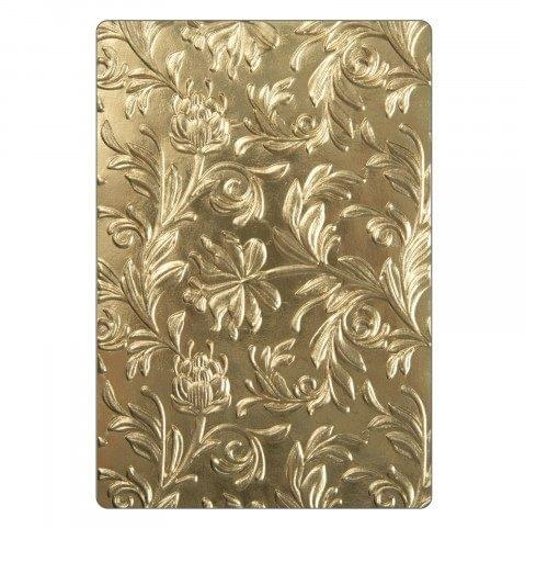 Sizzix 3-D Texture Fades Embossing Folder - Botanical Item - 662716