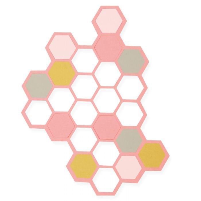 Sizzix Thinlits Die Set 2PK - Hexagons Item - 662517