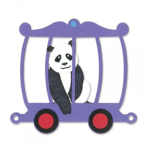 Sizzix Bigz Die - Train Zoo Car Item - A11228