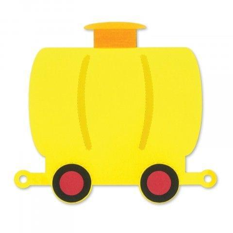 Save   Sizzix Bigz Die - Train Tank Car #2 Item - A11227
