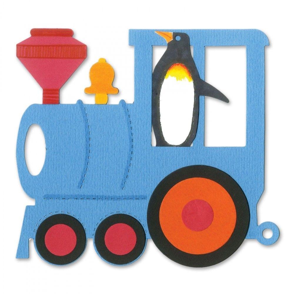 Sizzix Bigz Die - Train, Locomotive #2 Item- A11229