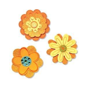 Sizzix Sizzlits Die Set 3PK - Flower Layers Set #2 Item - 656324