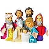 World Family, Large Hand Puppets  (Pack of 7)