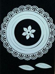 Doily w/ Flower & Leaves 7PK - CPMD013