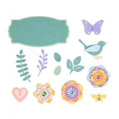 Thinlits Die Set 20PK - Spring Things-663583