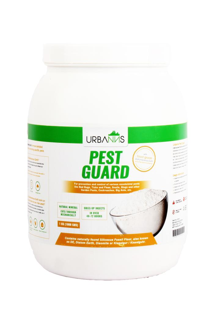 Organic Pest Guard based on Food Grade Diatomaceous Earth