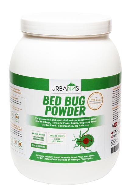 Organic Bed Bug Powder 1 kg Jar