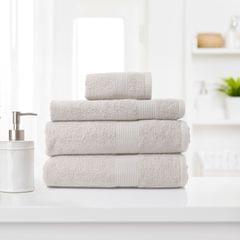 Royal Comfort 4 Piece Cotton Bamboo Towel Set 450GSM Luxurious Absorbent Plush - Sea Holly