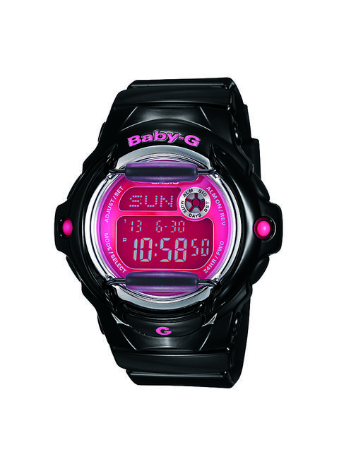 Casio Women's Baby G - Black/Pink