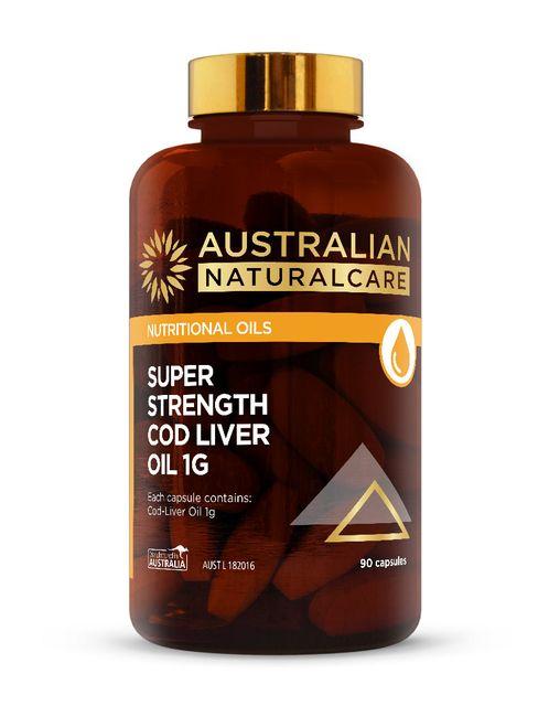 Super Strength Cod Liver Oil 90 Caps