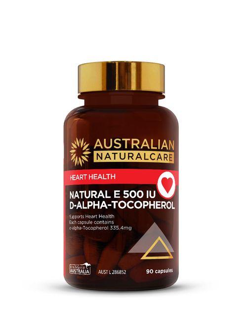 Natural Vitamin E 500IU 90 Caps